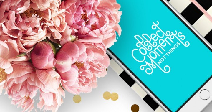 Collect Moments Not Things Free Calligraphy Wallpaper Downloads | FOXY OXIE FRIDAY FREEBIES
