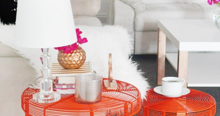 Pop of Color with Wayfair on FOXYOXIE.com