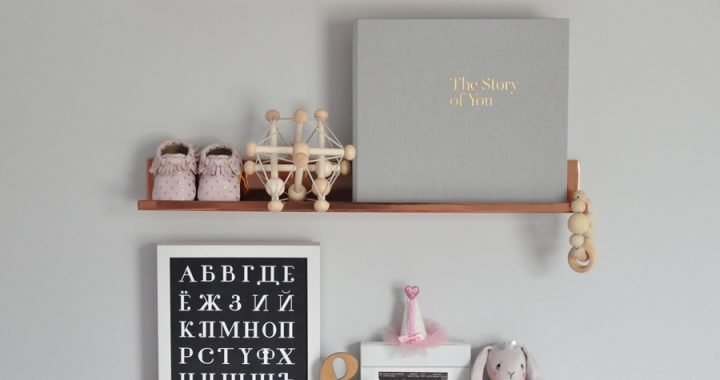 12 Modern Baby Books + Keepsake Memory Journals