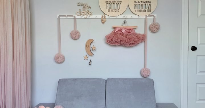 FOXYOXIE.com Wooden Wall Art and Decor for the Playroom (or Nursery)