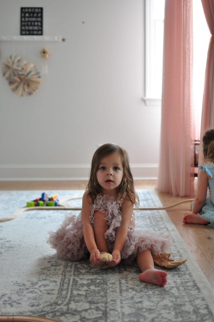 Girls' Shared Bedroom + Playroom Tour