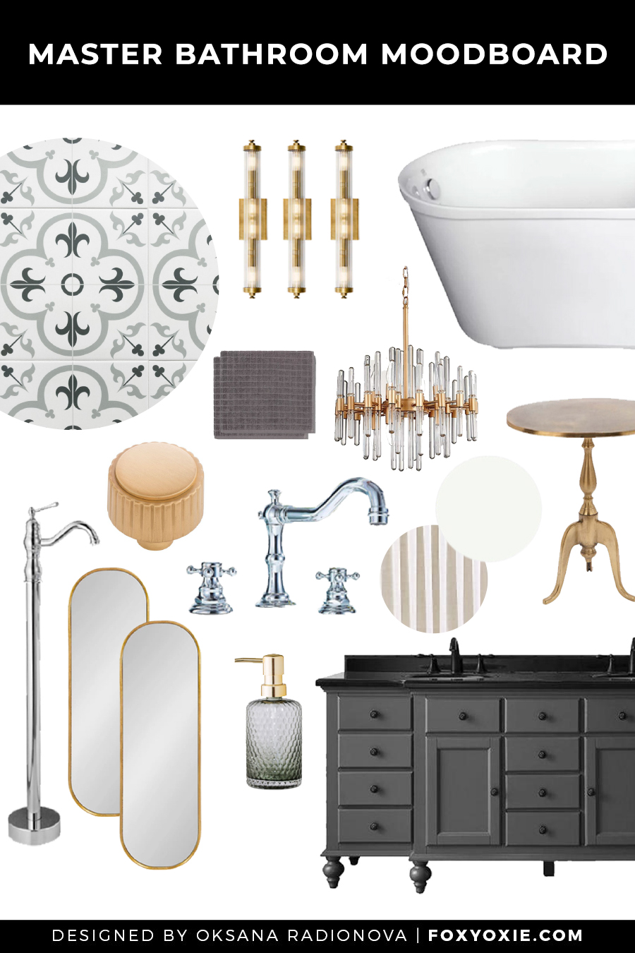 Greenfield Master Bathroom Before Tour + My Design Plan
